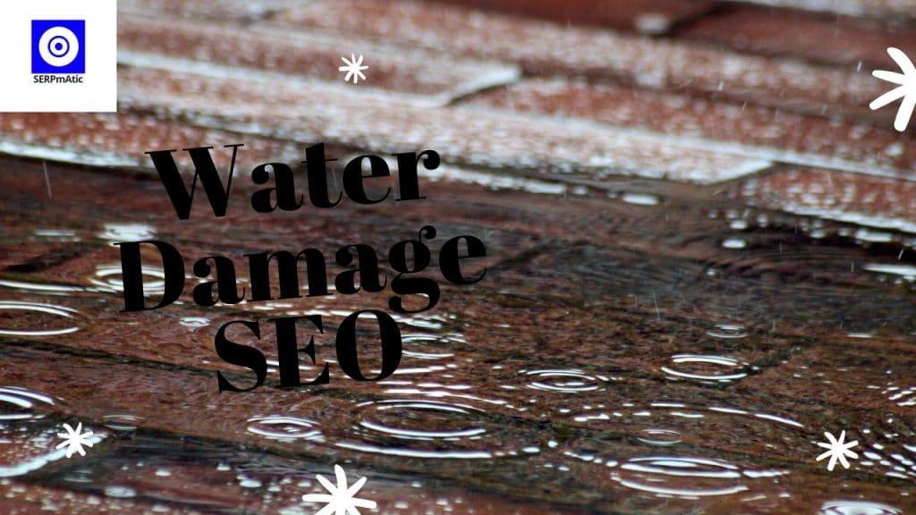 Water Damage SEO